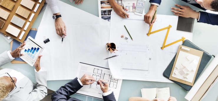Illustration Planification en équipe